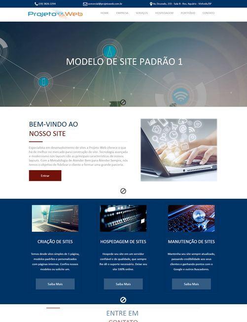 Site Padrão Simples