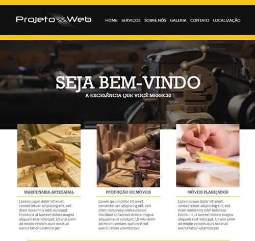 Site Simples de Uma Página em Campinas, São Paulo – SP