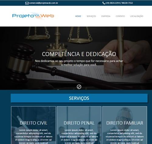 Criação de Site Simples de Uma Página em Campinas, São Paulo – SP