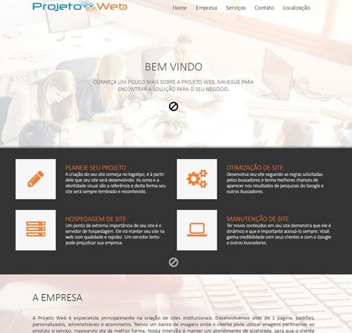 Desenvolvimento de Site Simples de Uma Página na Região de Campinas, São Paulo – SP