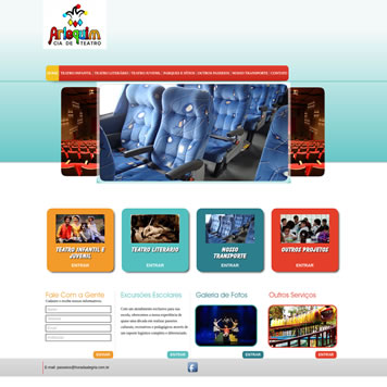 Desenvolvimento Web Sites Pata Tablet