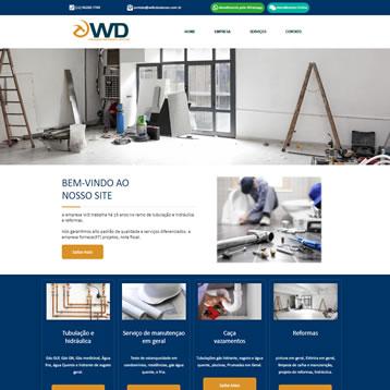 Sites para Empresas em Vinhedo - SP