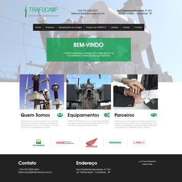 Site de Logotipos para Empresa