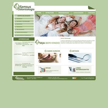 Site Empresarial Moderno Jundiai - SP