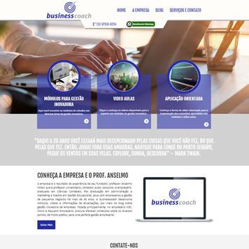 Site Empresarial Moderno para Celular