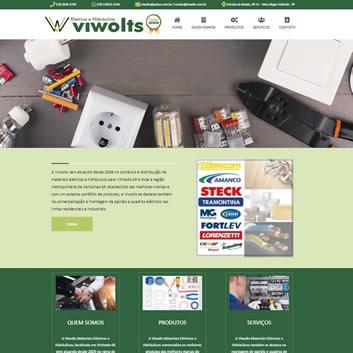 Site Empresarial Moderno