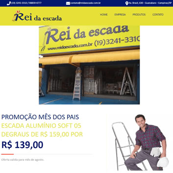 Sites Modernos Campinas - SP