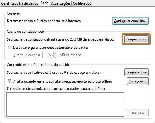 Como Limpar o Historico do Navegador Firefox